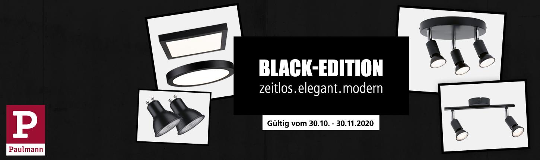 Paulmann - Black-Edition-Aktion